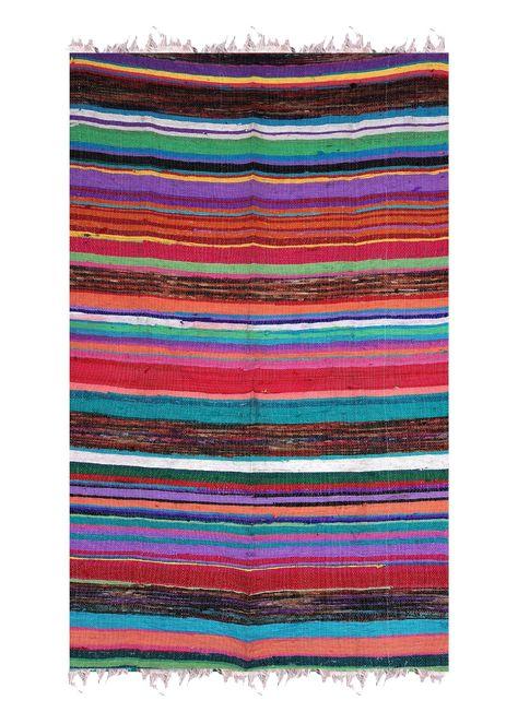 Rawyal Hand Woven Reversible Rug Rag