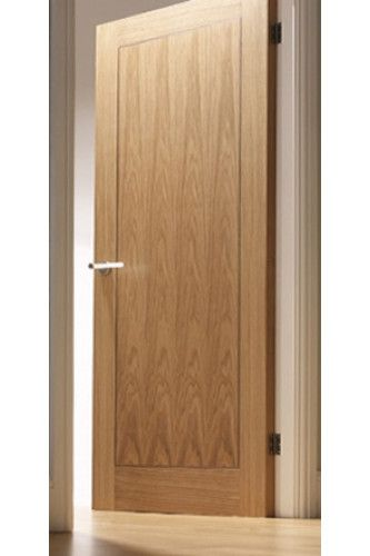 Internal Fire Door Oak Inlay 1 Panel With Walnut Inlay Pre Finished Special Offer Fire Doors Internal Fire Doors Door Design Interior