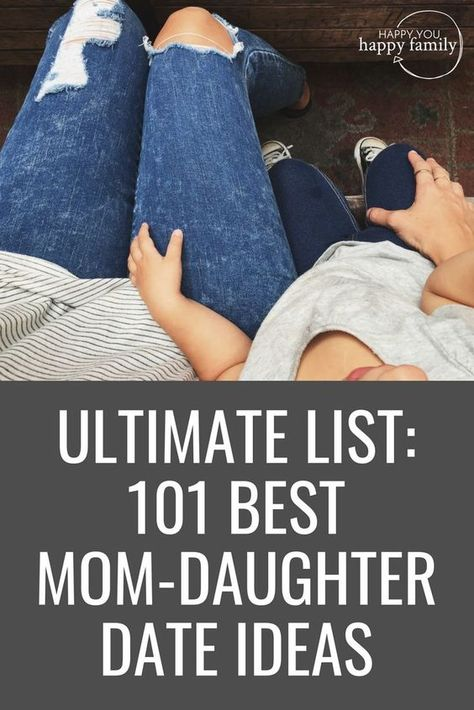 This list of mother-daughter date ideas is EPIC! Love how it includes mommy and me dates for every budget and every age of kids, from toddler to tween and teen. So many fun mother-daughter activities you can do with your girls! Save this for when you want Mom Daughter Dates, Daughters Day, Dear Daughter, Best Mother, Best Mom, Kids And Parenting, Parenting Hacks, Practical Parenting, Mother Daughter Activities