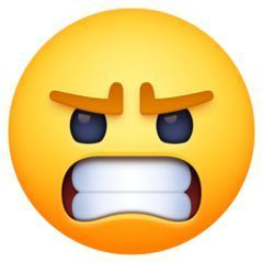 Angry Face On Facebook 3 1 Angry Face Angry Face Emoji Feeling Pictures