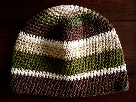 Free Crochet Pattern. Ravelry: The PERFECT Winter Beanie pattern by Kate Alvis