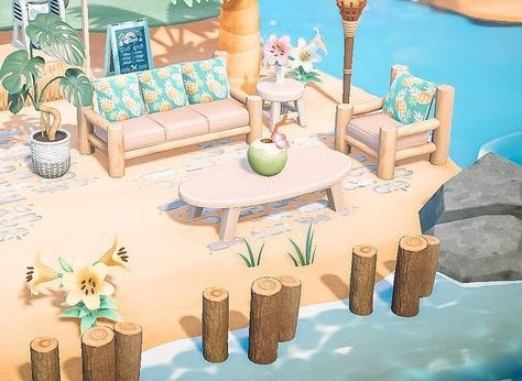 Jenny  Jeniska on Instagram: Welcome Coral Isles Tiki Karaoke bar! . I miss being able to go to my favorite tiki rooftop bar and karaoke bars so I figured Id Animal Crossing 3ds, Animal Crossing Villagers, Animal Crossing Qr Codes Clothes, Animal Games, My Animal, Foto Software, Karaoke, Ac New Leaf, Motifs Animal
