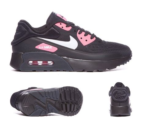 on sale d931a 91d93 Nike Junior Max 90 Ultra SE Trainers Black Hyper Pink S92082