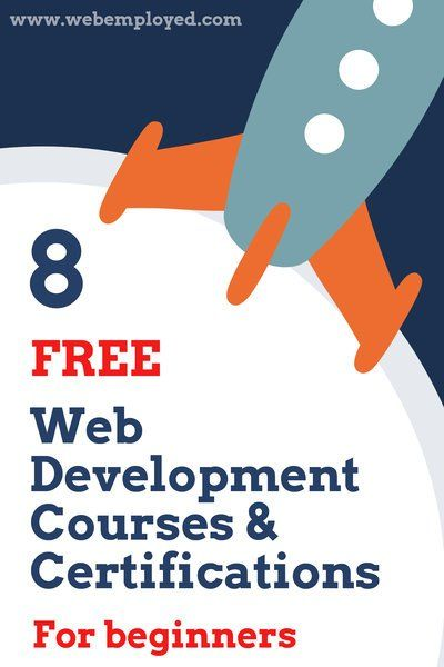 8 Free Web Development Courses and Certifications for Beginners