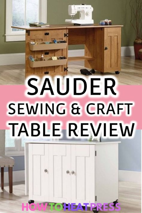 Sauder Sewing And Craft Table Review Find The Best Price