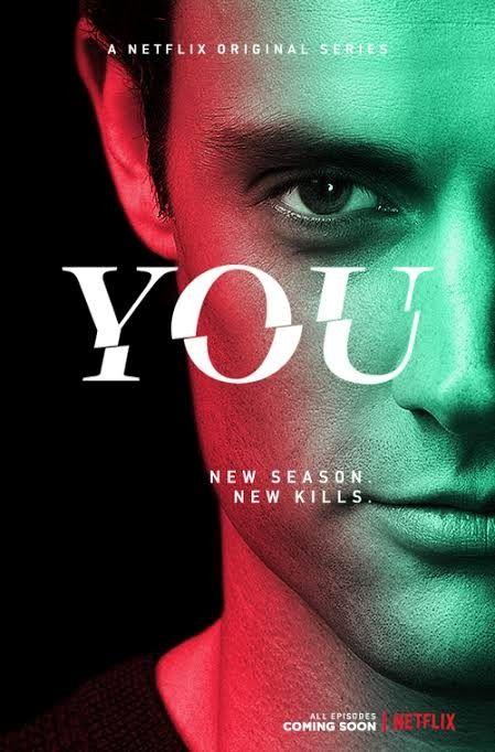 You Netflix Poster In 2021 Netflix Tv Series Penn Badgley