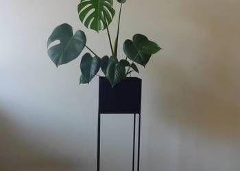 Metalowy Kwietniki Stojak Oslonka Metalowa Donica Loft Plants Interior