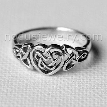 Celtic Infinity Ring Celtic Ring 925 Sterling Silver ring
