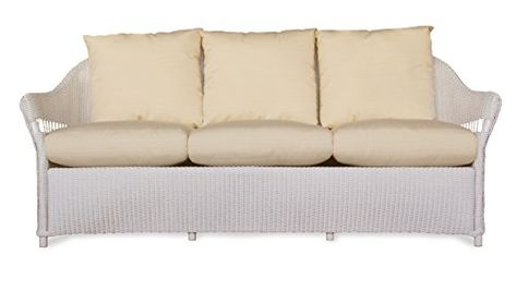Lloyd Flanders 72255 001 953 Freeport Collection Sofa In White