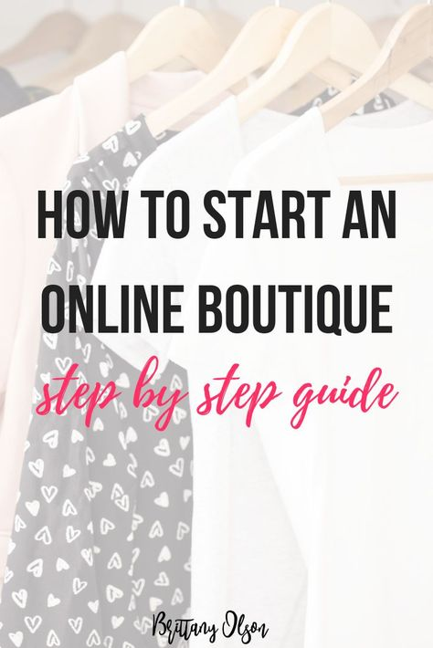How To Start An Online Boutique Step By Step Guide. Find Wholesale Clothing, Purchase Boutique Inventory, Best Ecommerce Platform from B. Business Planning, Business Tips, Online Business, Starting An Online Boutique, Selling Online, Diy Jewelry Findings, Jewelry Tools, Jewelry Supplies, Jewelry Bracelets