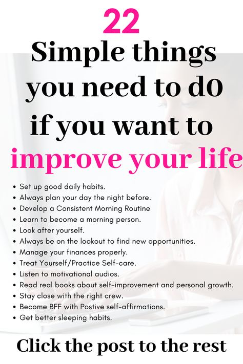 If you're a woman and want to improve your life or wondering how to have a better life, here are self-improvement Tips, activities, ideas, quotes,  habits Inspiration best steps to  Improving yourself personal growth habits / personal development/ goal setting #selfcare #grow #happy #goals #love #betterme #selflove #beautytips.