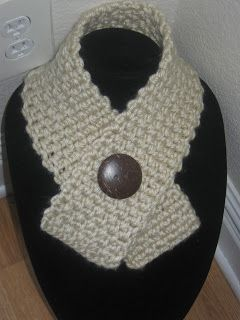 FOREVER AND A DAY: Free crocheted Neck warmer/scarf pattern