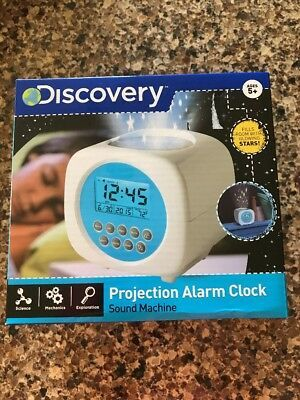 Discovery Kids Digital Alarm Clock Sound Machine Stars Projection Star Projector Fashion Home Garden Homedcor Clo In 2020 Clock Sound Star Projector Sound Machine
