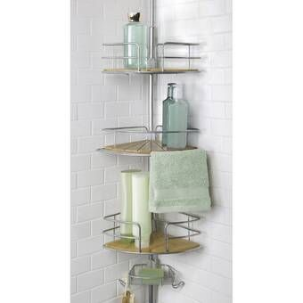 Eggert Teak Hanging Shower Caddy In 2020 With Images Hanging