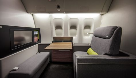 This Might Be The Comfiest First-Class Cabin Ever. Brazilian TAM airlines has launched an upgraded first class section.