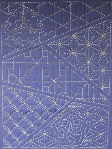 Sashiko Quilting may have to learn to do this one day....stunning!