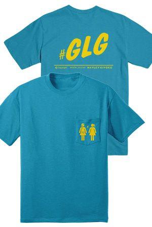 GLG Tee (Turquoise) T Shirt Hayley Kiyoko T Shirts