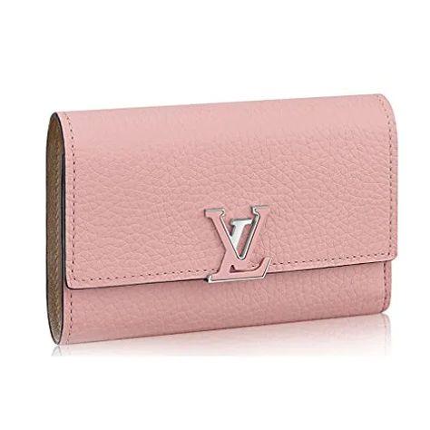 Louis Vuitton Taurillon Leather Capucine Compact Wallets Article: M62156 Clout Designer - CloutClothes.com