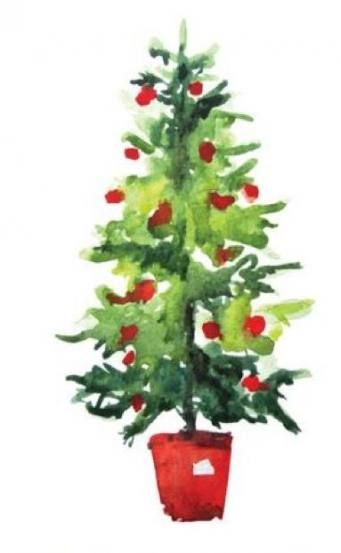 56 Trendy Ideas Painting Christmas Trees Green Painting