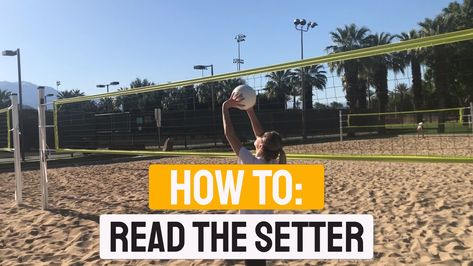 How To Read The Setter   Volleyball