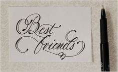 Pin By Christina Quintana On Calligraphy With Images Fancy