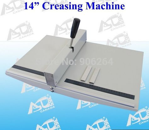 Brand New Heavy Duty All Metal Creasing Scoring Machine 14in 360mm A3 Size Scorer Creaser With Images Paper Trimmers