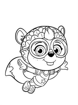 Top Wing Coloring Pages : coloring, pages, Coloring, Pages:, Kids-n-Fun, Patrol, Pages,, Pages