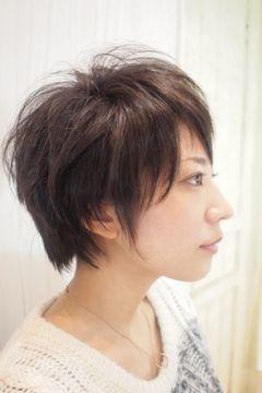 女性の髪型 ベリーショートウルフカット 髪型 ヘアスタイル