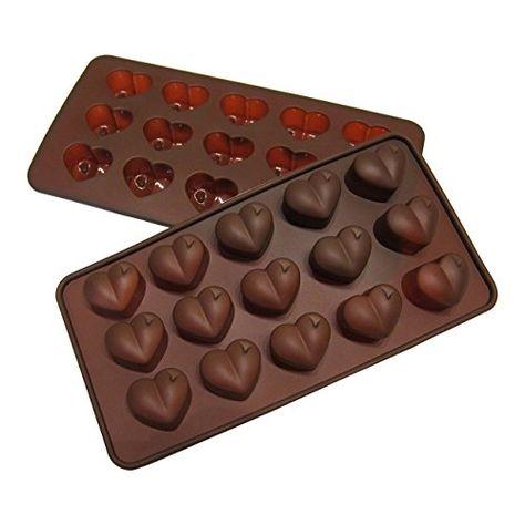 Heart Silicone Ice Cube Tray /& Baking Mold Chocolate Candy Jelly Soap 10 Cavity