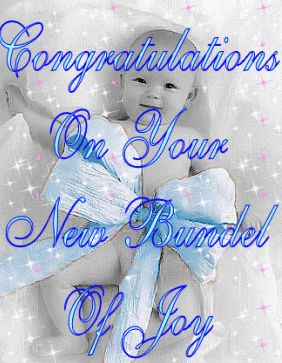 What's this one's name? Good for you.  Congratulations on your new bundel of joy