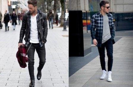 Portalmadura Com Tren Kemeja Flanel Kini Seperti Menjadi Oufit Wajib Sendiri Bagi Pria Tahukah Anda Item Fesyen Ini Tida Kemeja Model Pakaian Kemeja Flanel