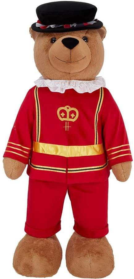 Giant Beefeater Bear 6ft London Souvenirs Giant Teddy Kids Toys