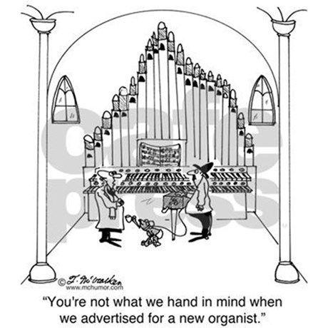 Church organ clipart