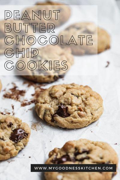 Vegan Peanut Butter Chocolate Chip Cookies Recipe In 2020 Vegan Cookies Recipes Cookies Recipes Chocolate Chip Chip Cookies
