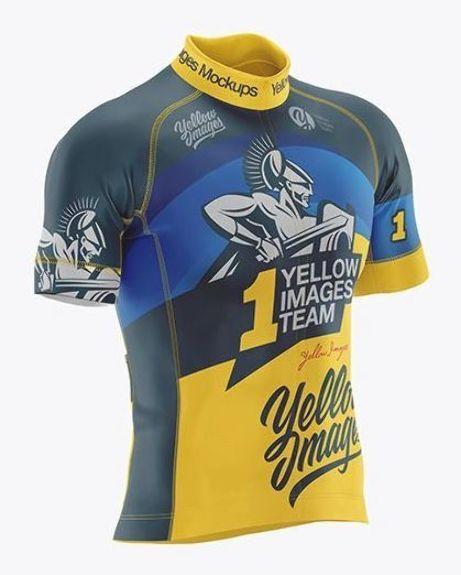Download Men S Cycling Jersey Mockup Clothing Mockup T Shirt Design Template Shirt Mockup