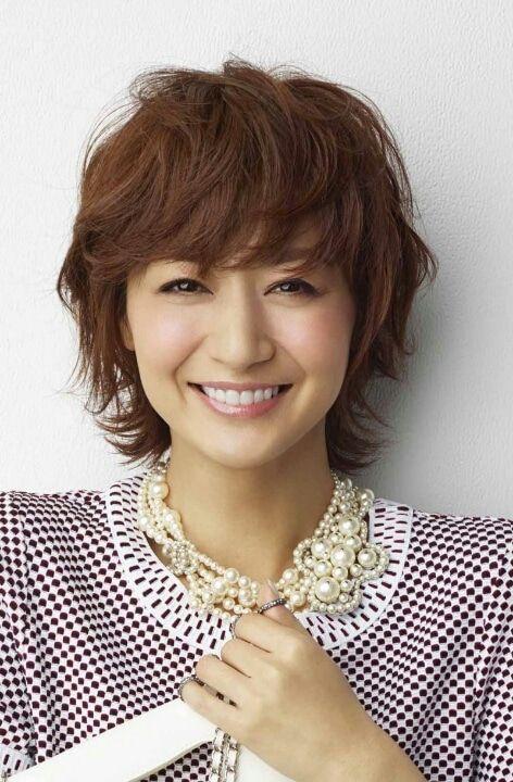 富岡佳子さん風 ショートカット の作り方 美髪 髪型 40代 ヘア