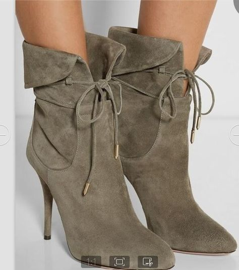 Lace Up the Ante Faux Suede Knee High Boots | Nasty Gal