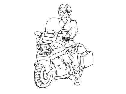 8 Inspirant De Coloriage Moto Police Photographie Coloriage Moto Coloriage Coloriage Ninjago