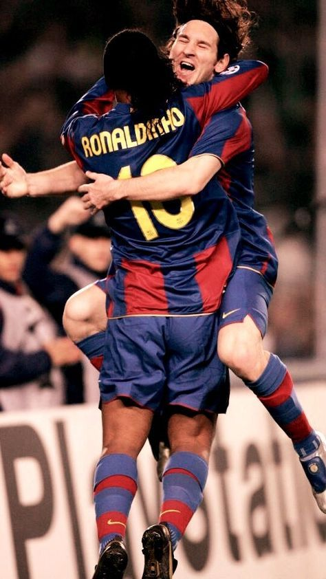 Ronaldinho Messi Retro Football Shirts Argentina Football Team Lionel Messi