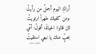 كلام عن الشوق والحنين للحبيب اجمل خواطر وكلمات ورسائل اشتياق روعه In 2021 Quotes Math Arabic Calligraphy