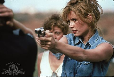 """I swear 3 days ago neither one of us would've EVER pulled a stunt like this, but if you'd ever meet my husband you'd understand why."" Thelma & Louise"