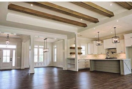 Farmhouse Style Plans Open Floor Beams 32 Ideas For 2019 House Plans Farmhouse Ranch House Plans Open Floor Plan Farmhouse