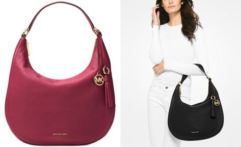 6cc6fb2daddb MICHAEL Michael Kors Lydia Large Hobo - Designer Handbags - Handbags    Accessories - Macy s