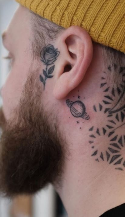 Small Tattoo For Men In 2020 Small Tattoos For Guys Tattoos For Guys Small Neck Tattoos