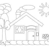 88 Gambar Rumah Anak Anak Tk Gratis Terbaik