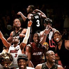 Image May Contain 8 People People Playing Sports Miami Heat Basketball Dwyane Wade Miami Heat