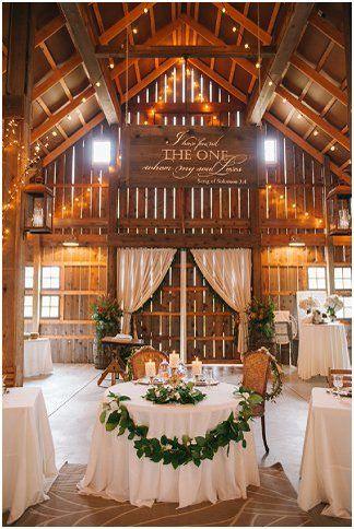 Ivory Gray And Navy Fall Barn Wedding