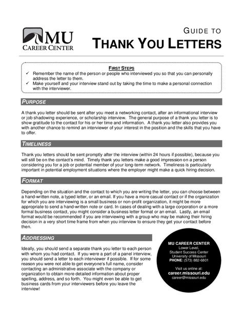 thank you letter how write thanks format Home Design Idea - thank you letter after informational interview