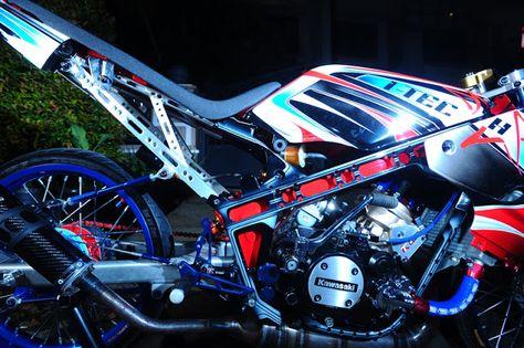 Cara Menaikan Tenaga Mesin Drag Kawasaki Ninja 150R ...