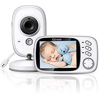 Govee Video Babyphone Baby Monitor 3 2 Zoll 2 4 Ghz Wireless Weit Reichend Mit Digitalkamera Infrarot Nachtsicht Babyphone Kamera Digital Baby Erstausstattung